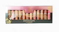 Блиск для губ Dermacol lip glaze (12 шт.)
