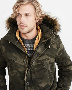 Парка Abercrombie & Fitch B-9 SHERPA-LINED PARKA M