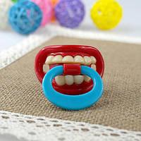 Креативная и забавная соска пустышка зубы №6, фото 1