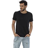 Черная мужская футболка LC Waikiki / ЛС Вайкики
