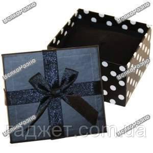 Подарочная коробка для часов с бантиком