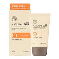 Солнцезащитный крем SPF50+PA+++ The Face Shop Natural Sun Eco Super Perfect Sun Cream SPF50+PA+++