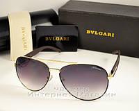 Мужские и женские солнцезащитные очки BvLgari Aviator Авиатор качество модель 2018 года реплика