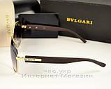 Чоловічі і жіночі сонцезахисні окуляри BvLgari Aviator Авіатор якість модель 2020 року репліка, фото 3