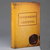 Книга сейф совершенно секретно 26 см, фото 1