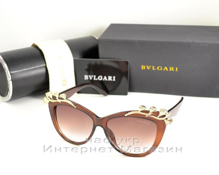Женские солнцезащитные очки BvLgari Булгари качество модель 2020 года элегантный стиль реплика