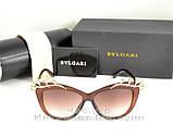 Женские солнцезащитные очки BvLgari Булгари качество модель 2020 года элегантный стиль реплика, фото 4