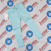 Котоновые брюки для девочек оптом NOVO STYLE