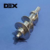 Шнек для мясорубки DEX DMG-154Q (с уплотнительным кольцом)