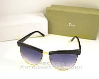 Женские солнцезащитные очки Christian Dior Кристиан Диор элегантный дизайн и утонченность реплика