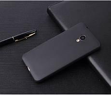 Чехол Бампер Style для Meizu M6s силиконовый черный