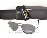 Мужские солнцезащитные очки Porsche Design Polarized антибликовое покрытие  реплика