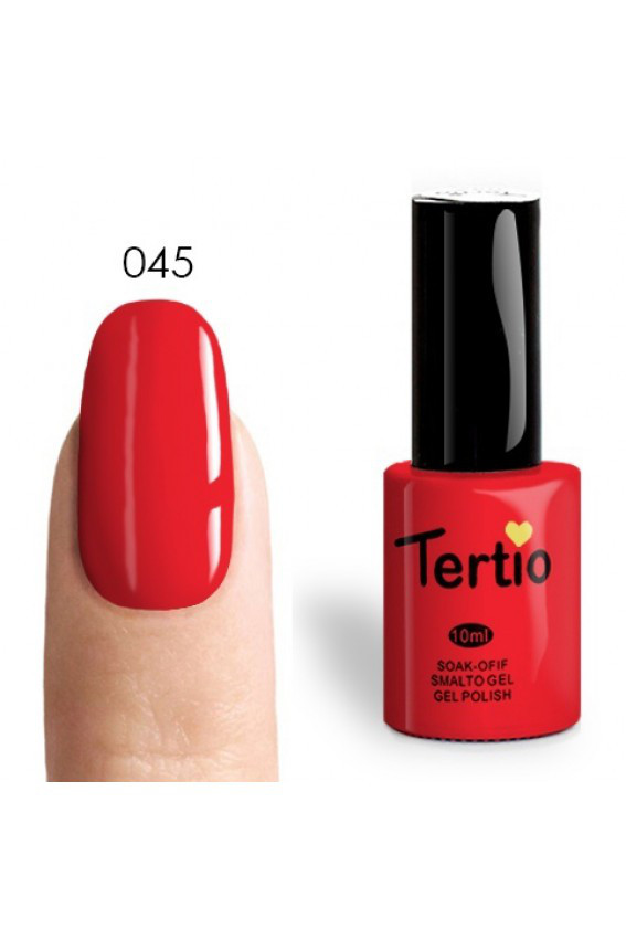 Гель лак tertio №045