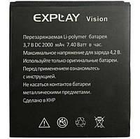 ✅Аккумулятор Explay Vision (1700 mAh)