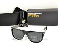 Мужские солнцезащитные очки Porsche Design прямоугольные качество классика полностью металл реплика