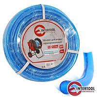 """Шланг для воды 3-х слойный 1/2"""", 10 м, армированный, PVC INTERTOOL GE-4051"""
