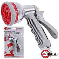 Пистолет-распылитель для полива хромированный INTERTOOL GE-0004