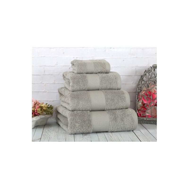 Полотенце Irya - Damla coresoft gri серый 50*90 см