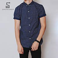 Рубашка MS MORYAK 18, темно-синяя