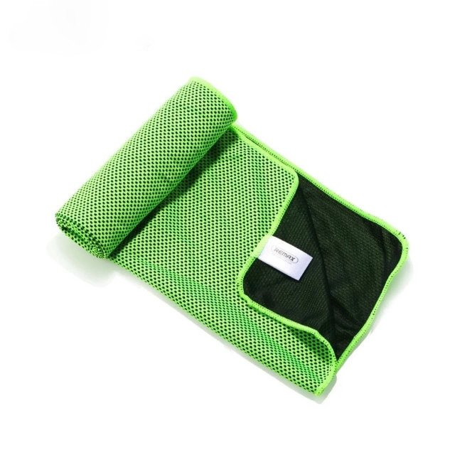 Полотенце Remax RT-TW01 Cold Feeling Sporty Towel (Green)