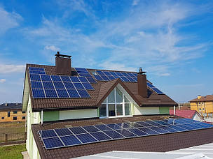 Домашня сонячна електростанція