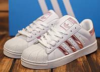 Кроссовки женские Adidas Superstar 30773 РЕПЛИКА