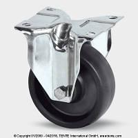 Неповоротный ролик с кронштейном из нержавеющей стали 8478BOG100P62, Ø 100 мм