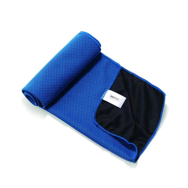 Полотенце Remax RT-TW01 Cold Feeling Sporty Towel (Blue)