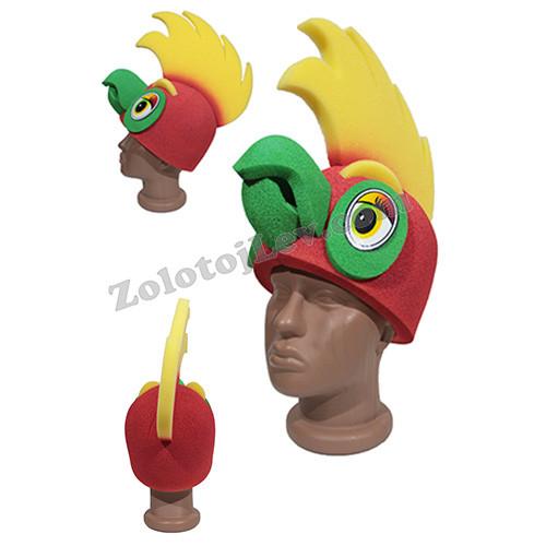 Карнавальная маска Попугай