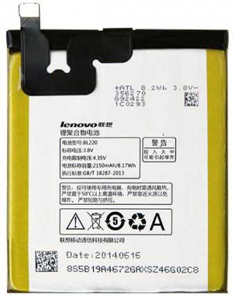 ✅Аккумулятор Lenovo S850 / BL220 (2150 mAh)