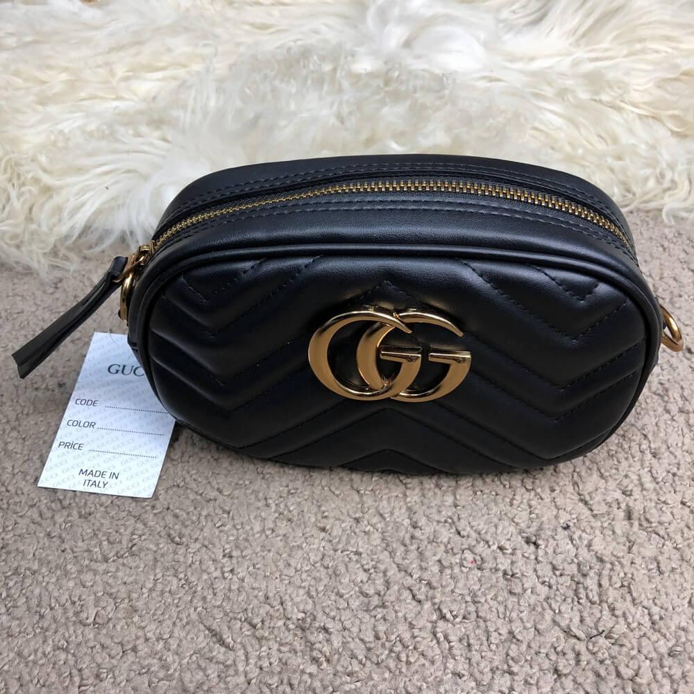 0265c8b0dea2 Сумка женская Gucci 18381 черная - купить по лучшей цене, от ...