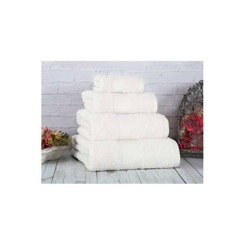 Полотенце Irya - Damla coresoft beyaz белый 50*90 см