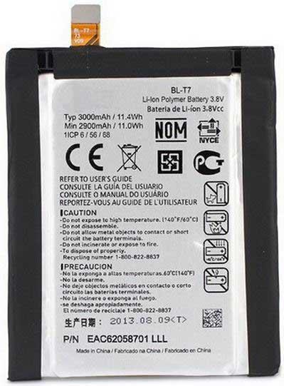 ✅Аккумулятор LG D802 Optimus G2 / BL-T7 (3000 mAh)