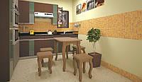 Кухонный стол ТИС Гармония бук