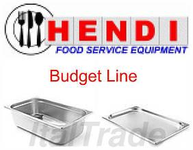 Гастроємкості з нержавіючої сталі Hendi Budget Line (Нідерланди)