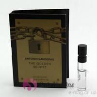 ANTONIO BANDERAS Golden SECRET vial 1.5 ml