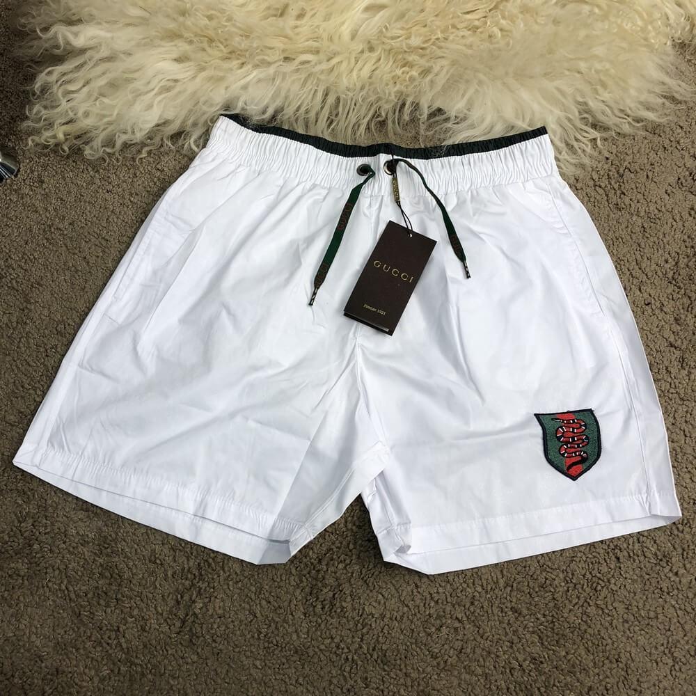 1fb11e746131 Шорты Gucci Swimming Trunks 18410 белые - купить по лучшей цене, от ...