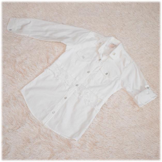 Рубашка-туника на девочку  размер  146 152