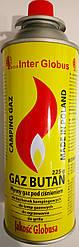 Газ для портативных газовых приборов 225мл Глобус