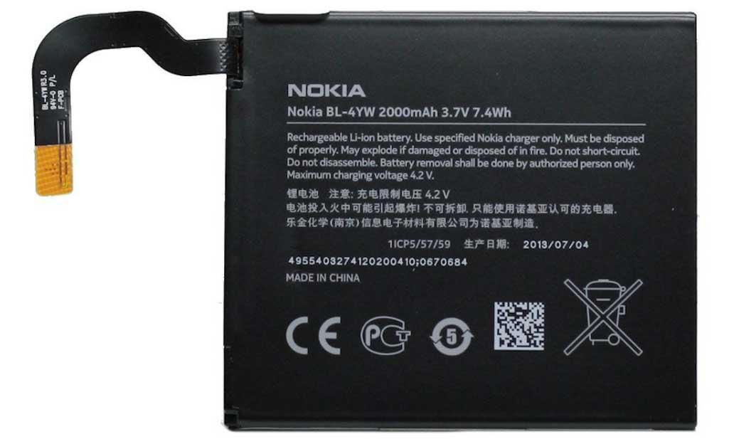 ✅Аккумулятор Nokia Lumia 925 / BL-4YW (2000 mAh)