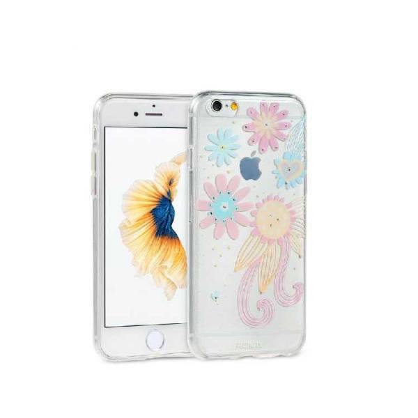 Чехол Remax Flowers iPhone 6 Plus/6s Plus CL-5 силикон