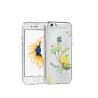 Чехол Remax Flowers iPhone 6 Plus /6s Plus CL-2 силикон