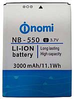 ✅Аккумулятор Nomi i550 Space / NB-550 (3000 mAh)