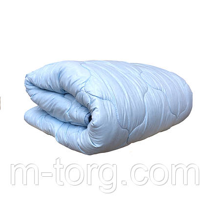 Одеяло полуторное холлофайбер,размер 150*210, ткань микрофибра, фото 2
