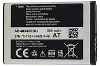 ✅Аккумулятор Samsung E2550 / AB403450BU (800 mAh)