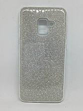 Чехол Samsung Galaxy A8 2018 Silver Dust Dream