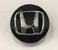 Заглушки колпачки литых дисков Honda черные