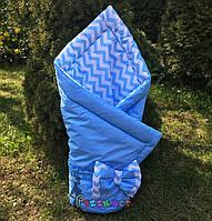"""Конверт-одеяло двухсторонний для новорожденных на выписку и в коляску на синтепоне Lari """"Цвет 1"""" , фото 1"""