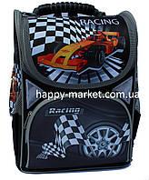 Ранец каркасный школьный ортопедический JOSEF OTTEN Racing car SM1814 ж