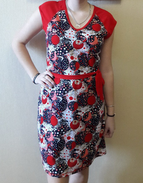 Платье женское сарафан больших размеров летний хлопок